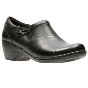 Clarks Collection Channing Ann Leather Shoe